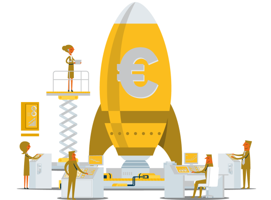 Drietrapsraket voor de Vlaamse economie