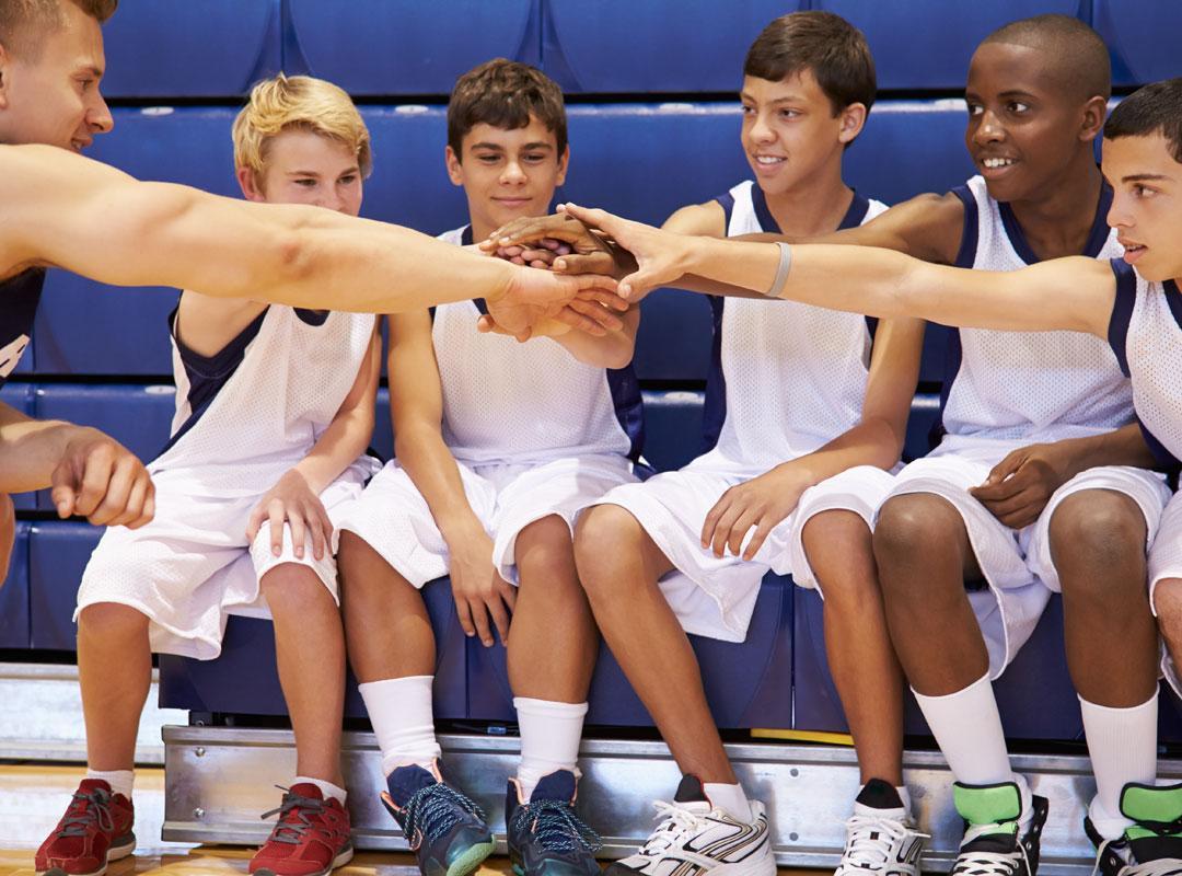 Coach en team